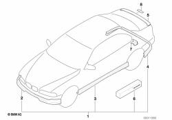 Bmw E39 Isofix Kit